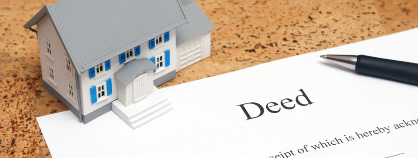 Why You Shouldn't Add Someone's Name To The Property Deed