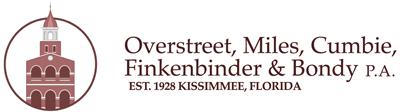 Kissimmee Attorney - Overstreet, Miles, Cumbie & Finkenbinder, P.A.