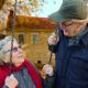Two Elders on Swing